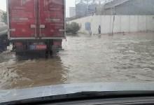 Photo of شلل شبه كلّي لحركة المرور في بن عروس بسبب الأمطار