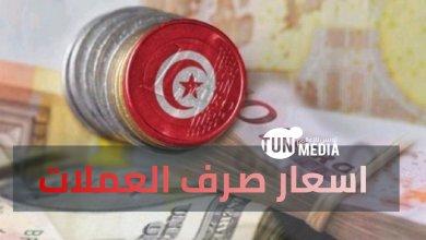 Photo of الخميس 12 نوفمبر 2020: سعر صرف الأورو و الدولار بالدينار التونسي