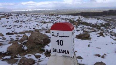 Photo of سليانة : الثلوج تغطي المرتفعات