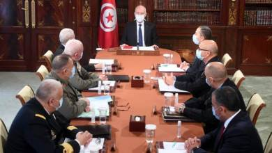"""Photo of سعيّد: """"القوات العسكرية قادرة على الحفاظ على مؤسسات الدولة"""""""