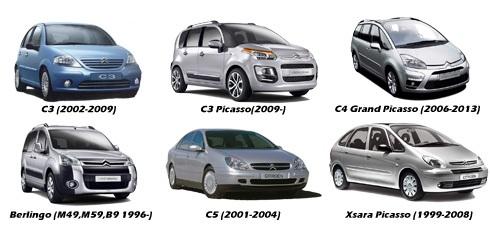 Camera marsarier Citroen C3, C4, C5, Berlingo, Xsara Picasso