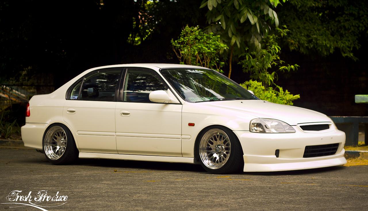 2000 Honda Civic Slammed