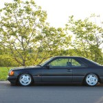Mercedes W124 Coupe 4 Tuning