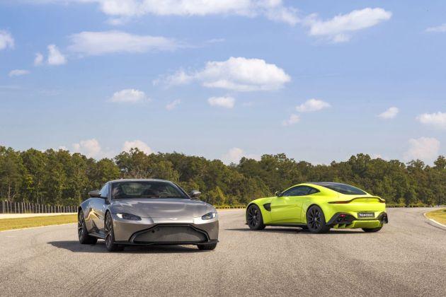 Aston Martin VantageTungsten SilverLime Essence05 jpg
