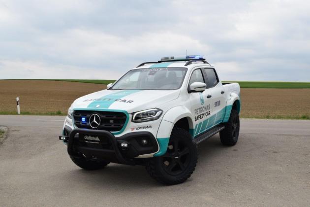 MercedesX ClassPetronasSafetyCar fl