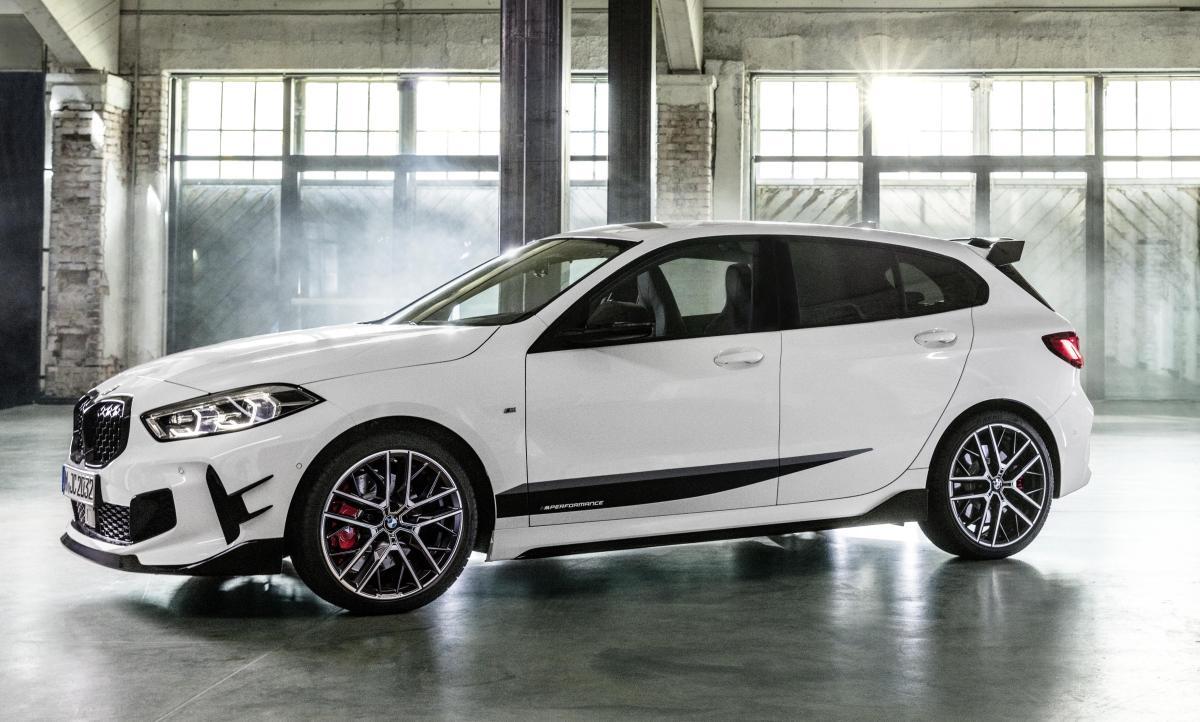 M Performance Parts für den neuen BMW 1er vom Start weg ...