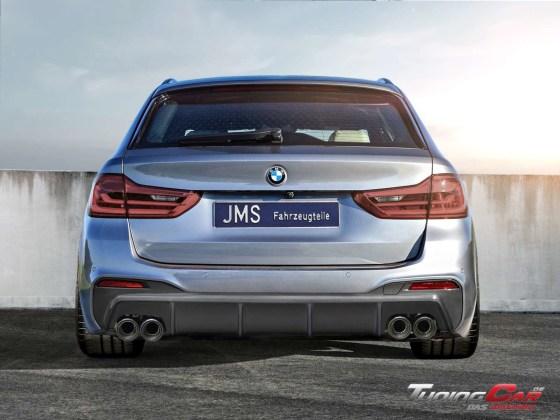 BMW G30 JMS Heck Ohne carbon mit Remus