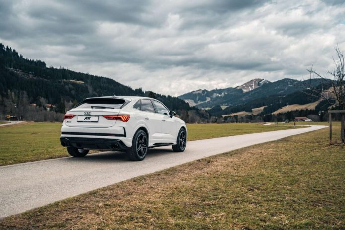 ABT Audi RS Q3 weiß FR20 4