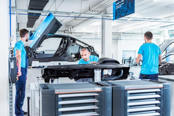 Rimac C Two Prototype Assembly Line 4