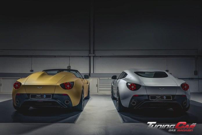Aston Martin Vantage V12 Zagato Heritage TWINS by R Reforged rear