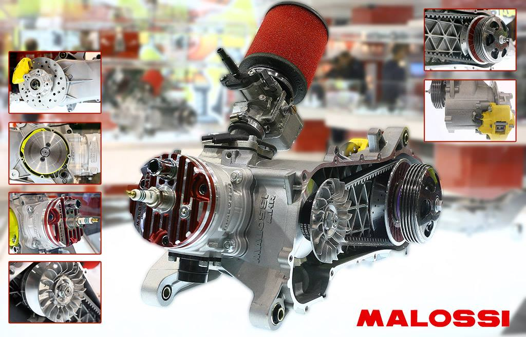 Malossi Cone Engine Announced At Eicma  Tuningmatterscom