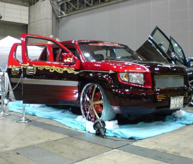 Slideshow  C B Honda Ridgeline Custom