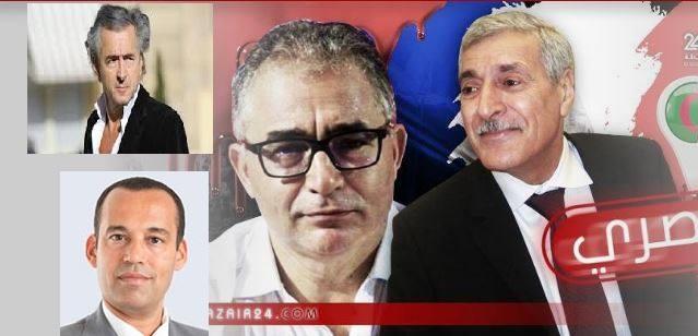 إجتماع سري جمع برنار ليفي و محسن مرزوق و ياسين إبراهيم