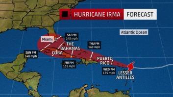 المدن التي ضربها إعصار إيرما