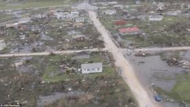 قرية دمرت بالكامل بسبب الإعصار