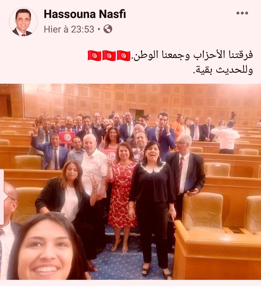 حسونة الناصفي وعبير موسي فرّقتهم الثورة وجمعهم خليفة حفتر والحنين للتجمّع