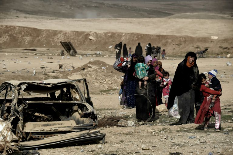 Mosul Residents Flee Battle Advances  Tunis Daily News