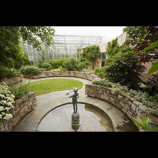 Atlanta Botanical Garden Storza Woods: Tunnell + Tunnell Landscape