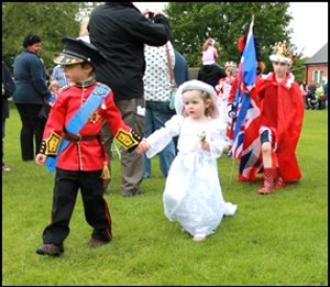 Fancy Dress Parade - Will & Kate look-a-likes