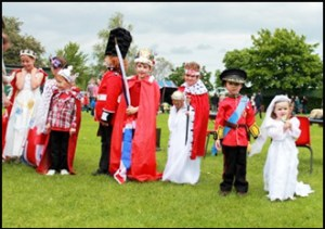 Queens Diamond Jubilee - Fancy Dress Parade