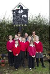 Tunstead Village Sign