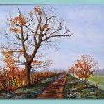 Country Lane in Surlingham by Frances Dewis