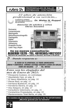 INFORMARIO 258 - FEBRERO 2021.cdr