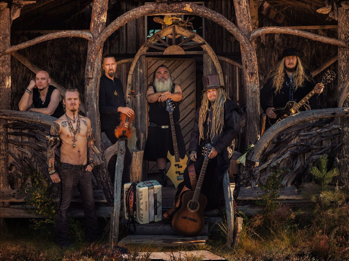 "Korpiklaani announce new album ""Jylhä"" for February 5th, first single out today."