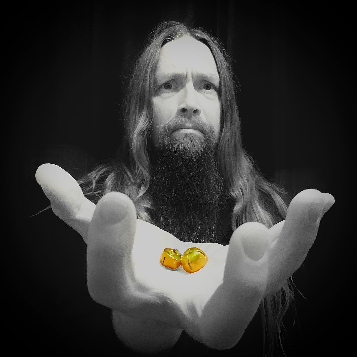 """Sami Hinkka's solo project ssSHhh released industrial metal homage to Christmas classic """"Jingle Bells."""""""
