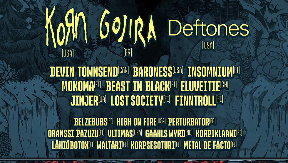 Tuska 2021: Baroness, Finntroll, Korpiklaani, and many others!