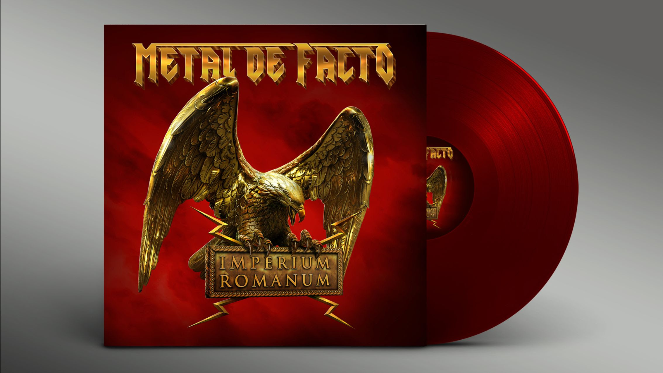 "Metal De Facto's ""Imperium Romanum"" available in vinyl limited edition"