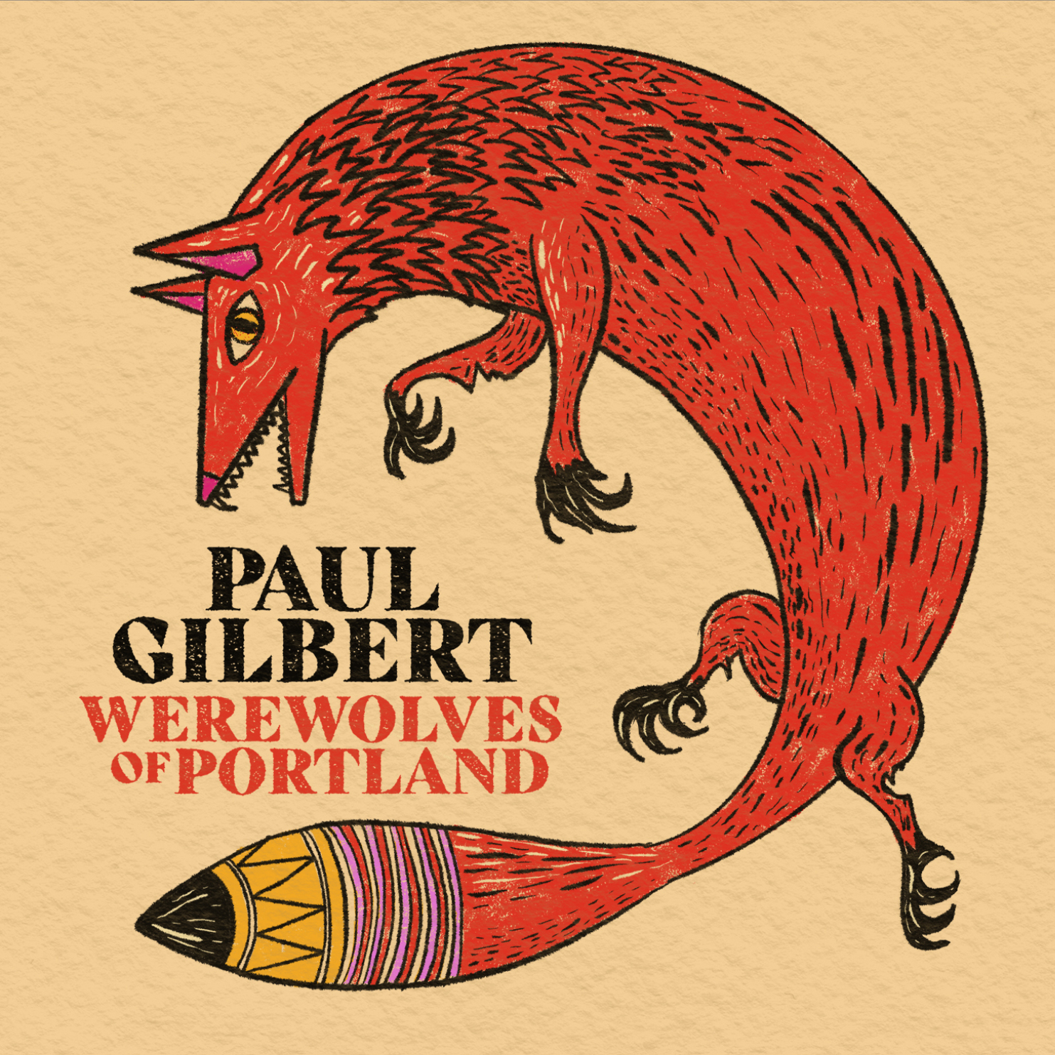 "Paul Gilbert to release new album, ""Werewolves of Portland,"" on June 4th via The Players Club"