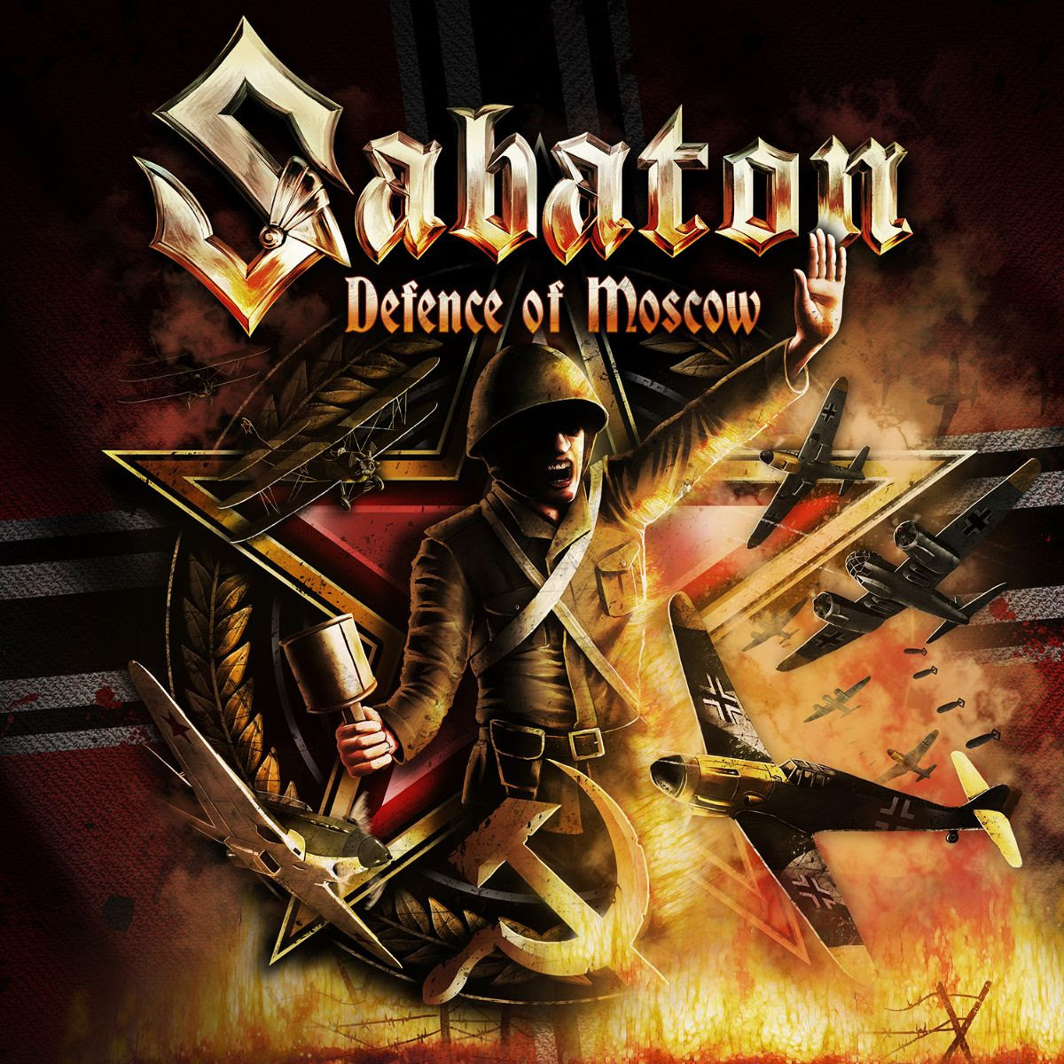 "Sabaton announce new single ""Defence Of Moscow."""