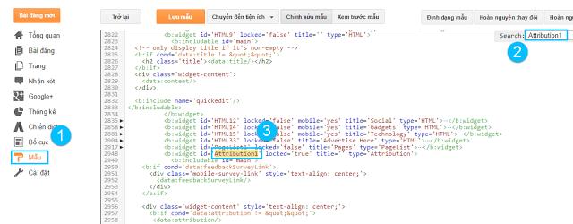 Cách xóa bỏ thuộc tính cung cấp bởi Blogger cho Blogspot Cách xóa bỏ thuộc tính cung cấp bởi Blogger cho Blogspot