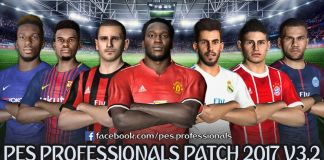 PES Professionals Patch 2017 V3.2 - Patch PES 2017 mới nhất