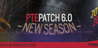 Download PTE Patch 2017 6.0 – Patch Pes 2017 mới nhất