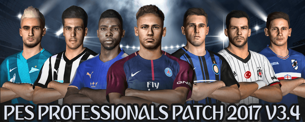 PES Professionals Patch 2017 V3.4 - Patch PES 2017 mới nhất PES Professionals Patch 2017 V3.4 - Patch PES 2017 mới nhất
