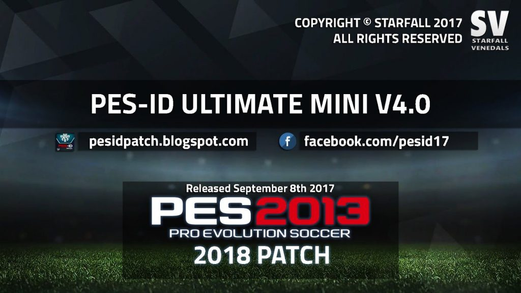 PES-ID Ultimate Patch 2013 Mini 4.0 - Patch PES 2013 mới nhất 2017 PES-ID Ultimate Patch 2013 Mini 4.0 - Patch PES 2013 mới nhất 2017