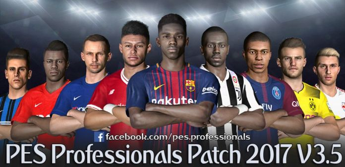 PES Professionals Patch 2017 V3.5 – Patch PES 2017 mới nhất PES Professionals Patch 2017 V3.5 – Patch PES 2017 mới nhất