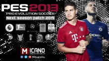 PES 2013 Next Season Patch 2019 - World Cup 2018 Russia Edition