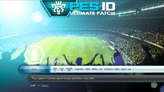 PES-ID Ultimate Patch 2013 v6.0 – Patch PES 2013 mới nhất 2018