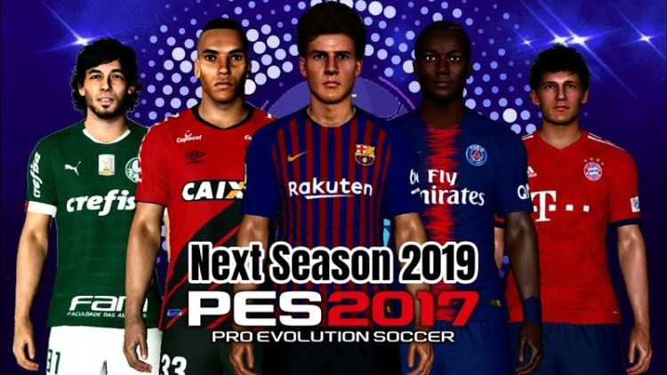 PES 2017 MEGA Update for Next Season Patch 2019 AIO - Patch PES 2017