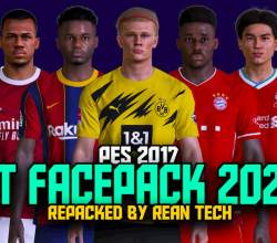 RT Facepack 2021 v1.0 (1000+ Faces) - PES 2017 Facepack