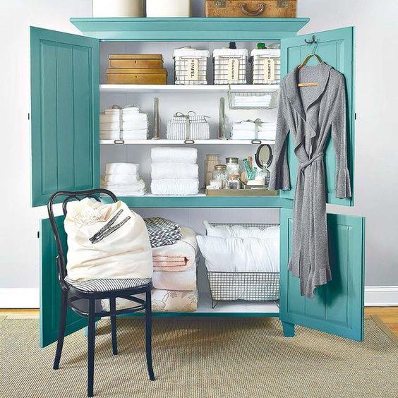 Cmo organizar el armario de las sbanas y toallas