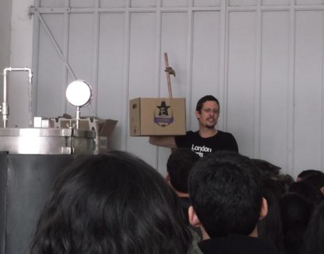 Presentación de cerveza Tupac