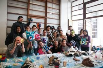 Taller de Elaboración de Máscaras de Paucartambo (setiembre 2014)