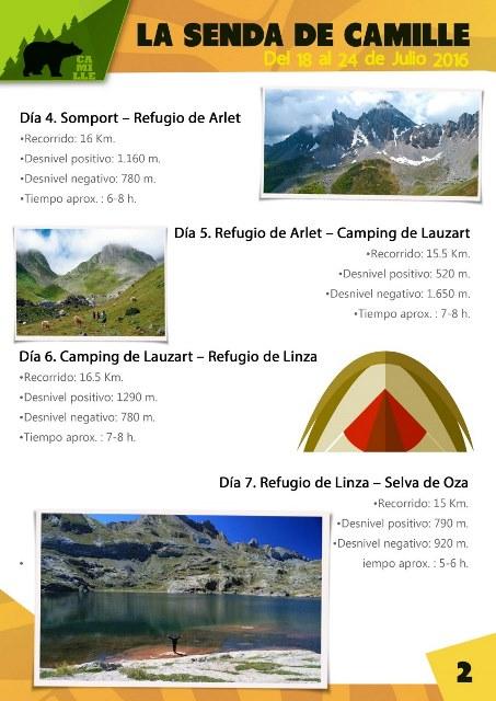 HOJA 2 Trekking_la senda de Camille en Pirineos_Tupanga Ocio y Tiempo Libre