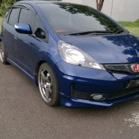 Simple Modification Blue Honda Jazz/Fit