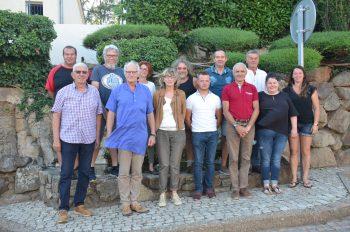 Photo de l'ensemble de la nouvelle équipe du conseil municipal de la commune de Tupin et Semons pour la page de présentation du maire et des élus du site internet www.tupinetsemons.fr