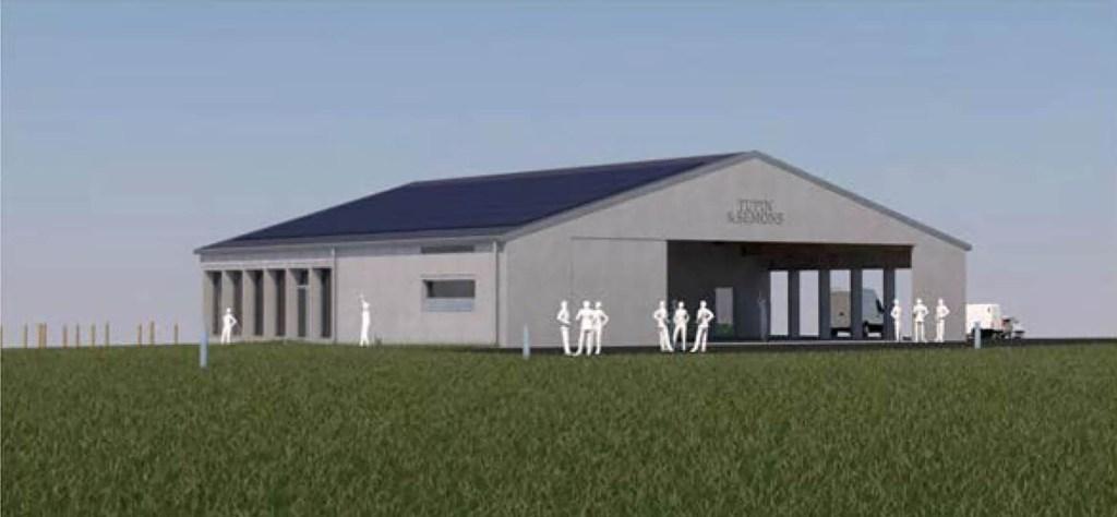 Photo virtuelle représentant le projet de la future maison des association de Tupin et Semons pour illustrer la page PLU du site internet de la mairie de Tupin et Semons tupinetsemons.fr